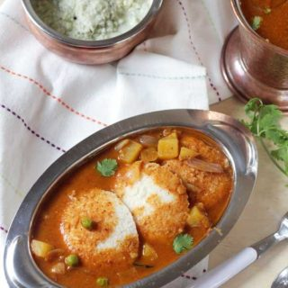 Hotel Style Idli Sambar Recipe | Tiffin Sambar