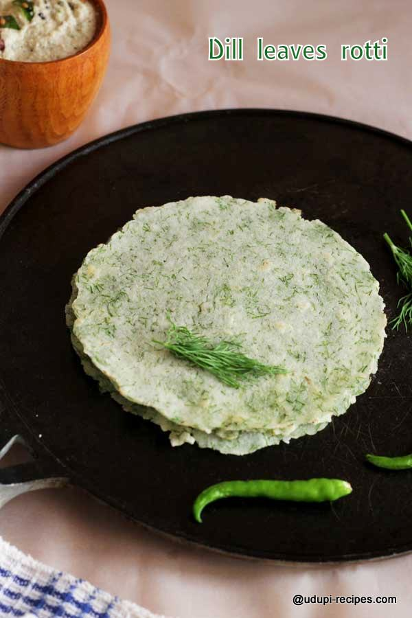 healthy dill leaves rotti