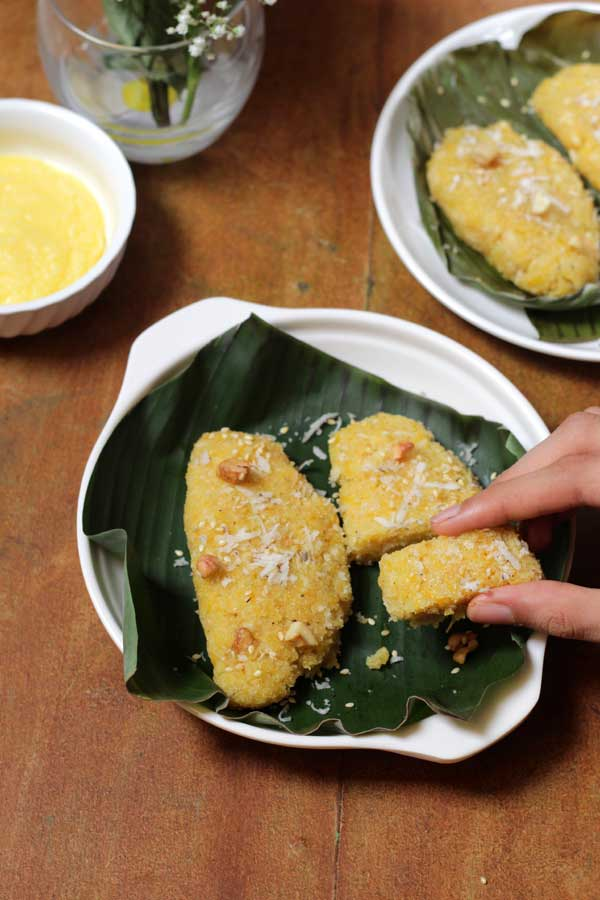 lip-smacking pumpkin idli