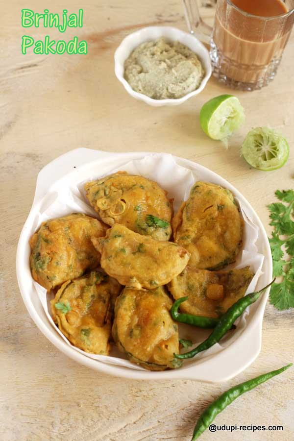 wonderful snack brinjal pakoda