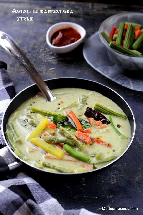delicious avial with goodness of veggies-2