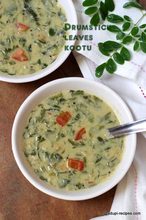 Drumstick Leaves Kootu Quick And Healthy Curry Udupi Recipes