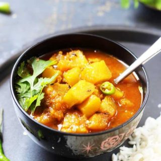 Quick pumpkin curry
