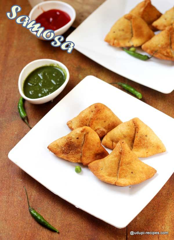 Spicy and crispy samosa