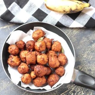 Banana MuLuka using Wheat Flour | Deep Fried Appam