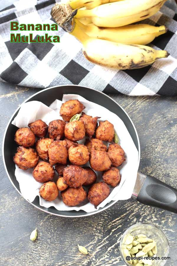 Banana MuLuka using Wheat Flour
