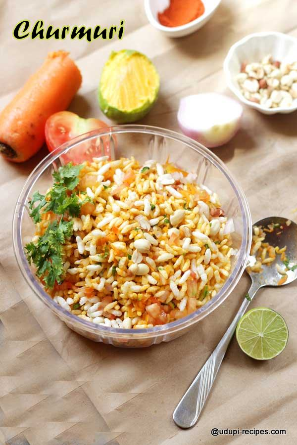 Delicious Churmuri | Spiced Puffed Rice