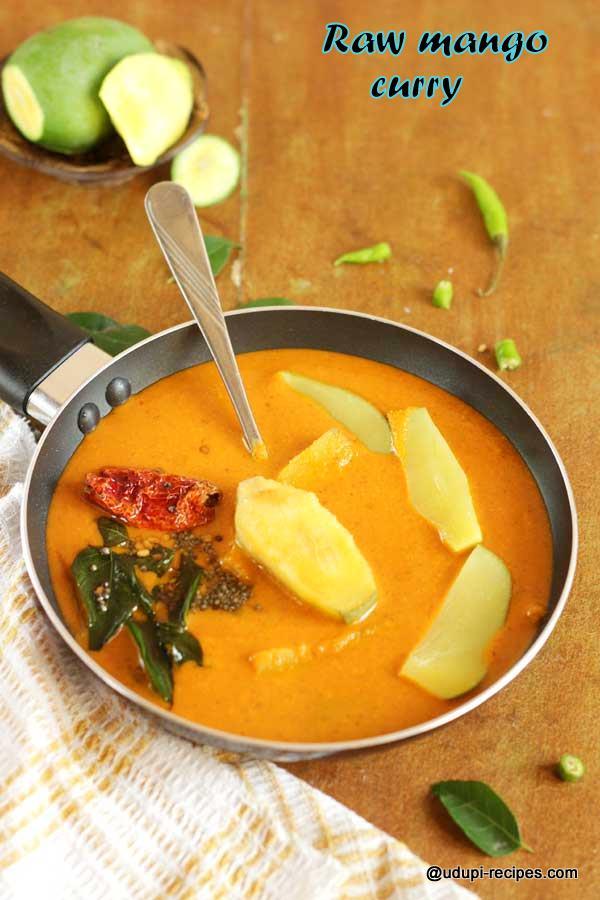 delicious raw mango curry