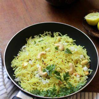 Lemon Shavige Recipe   Instant Breakfast