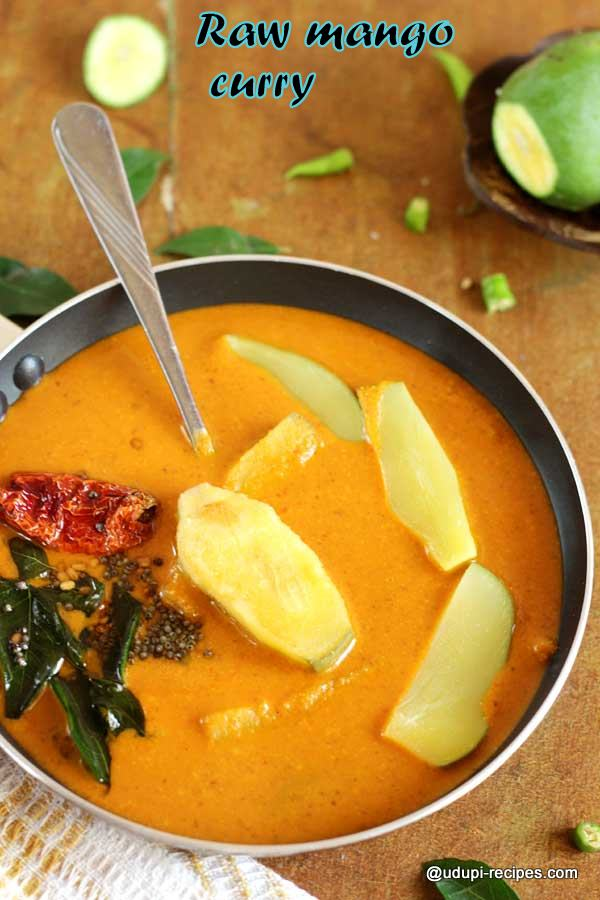 lip-smacking raw mango curry