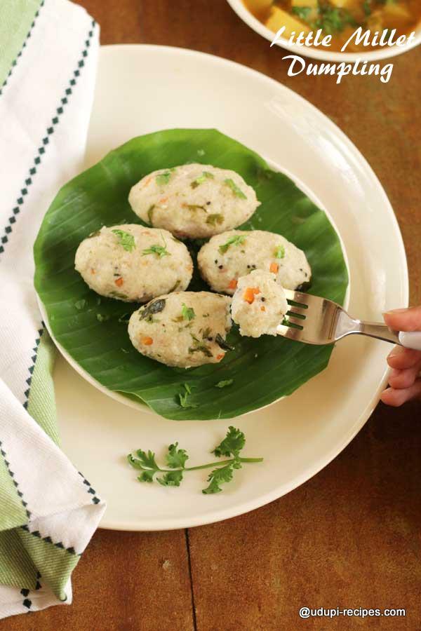 tasty little millet dumpling
