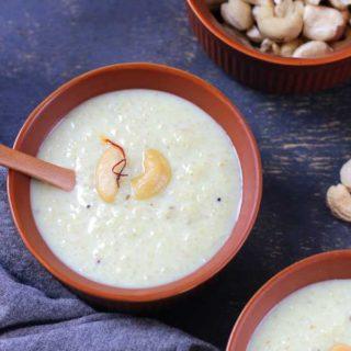 Little Millet Kheer | Saame Kheer Recipe