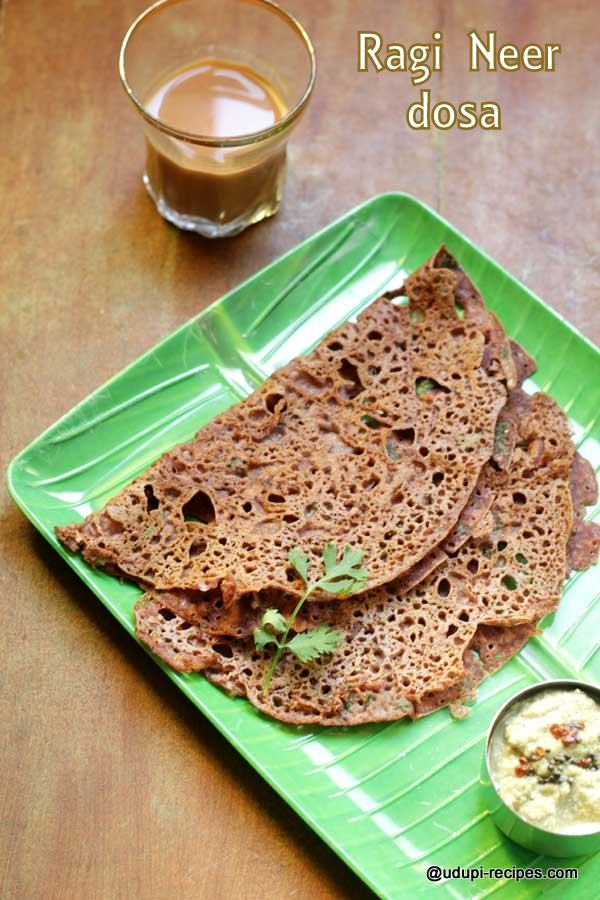 Ragi neer dosa yummy and tasty