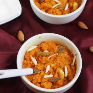 Carrot Halwa using Milk | Diwali 2017