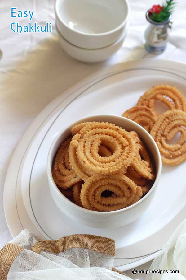 Easy Chakkuli Recipe using Ready Flour