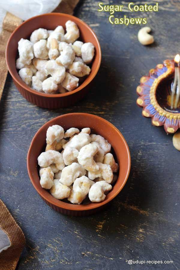 Sugar Coated Cashews | Sweet Cashews