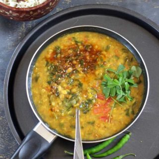 Methi Dal Recipe | Healthy Chapati Side dish