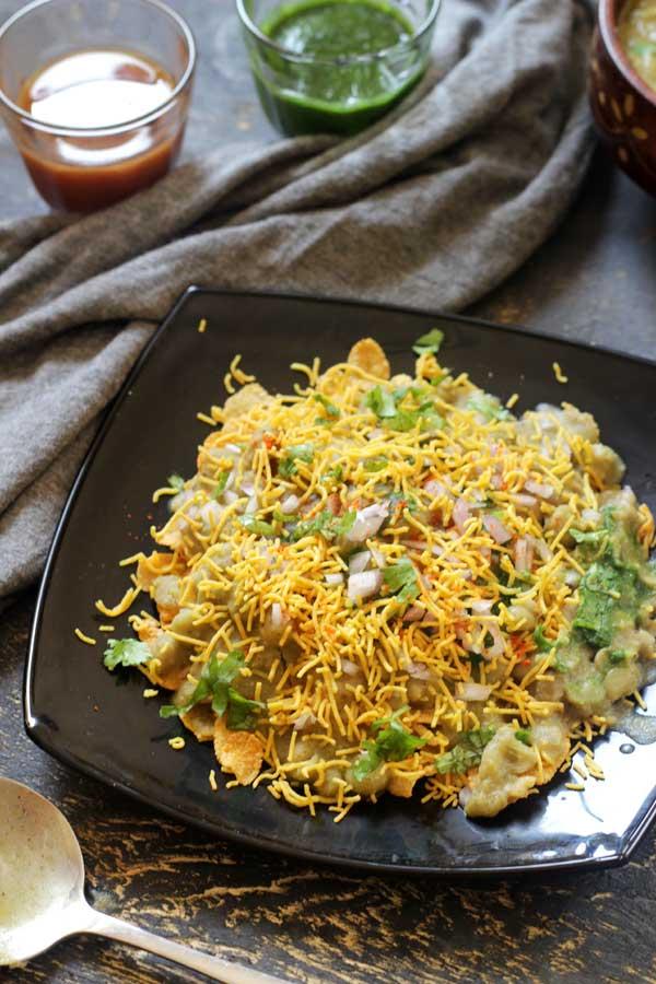 Corn Flakes Masala Puri | Delicious Chaat