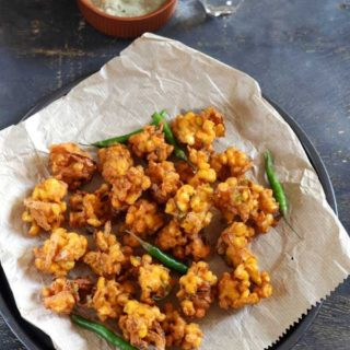 Sweet Corn Pakoda | Sweet Corn Fritters