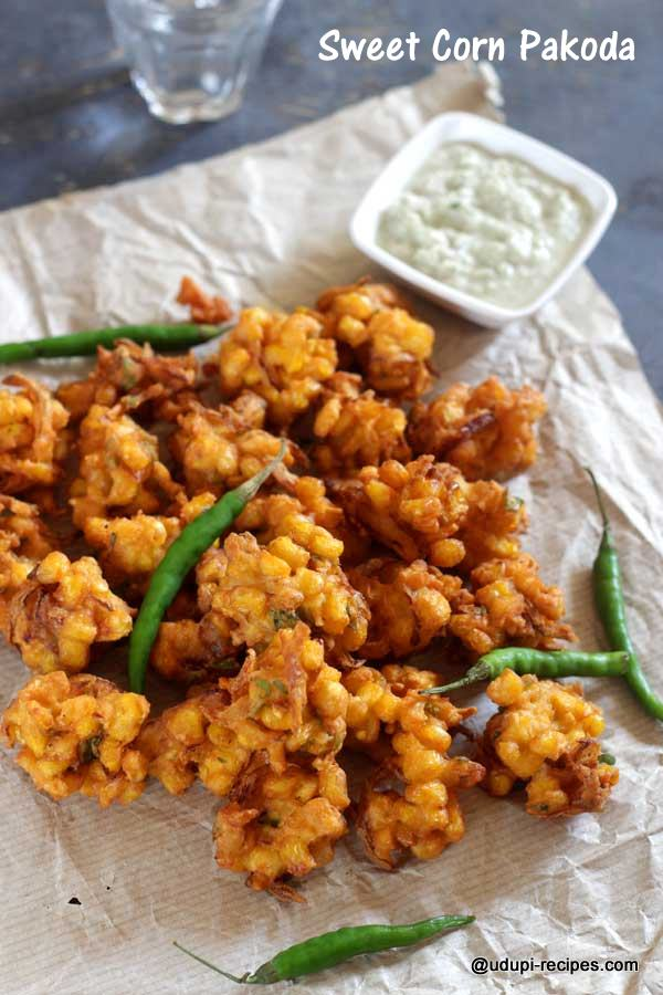 delicious sweet corn pakoda