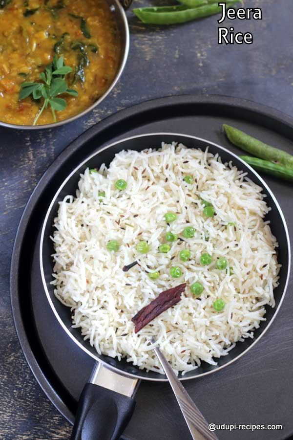 Easy Jeera rice