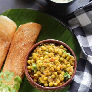 Peas Masala Dosa Recipe | Filling and Delicious