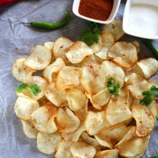 crispy tapioca chips