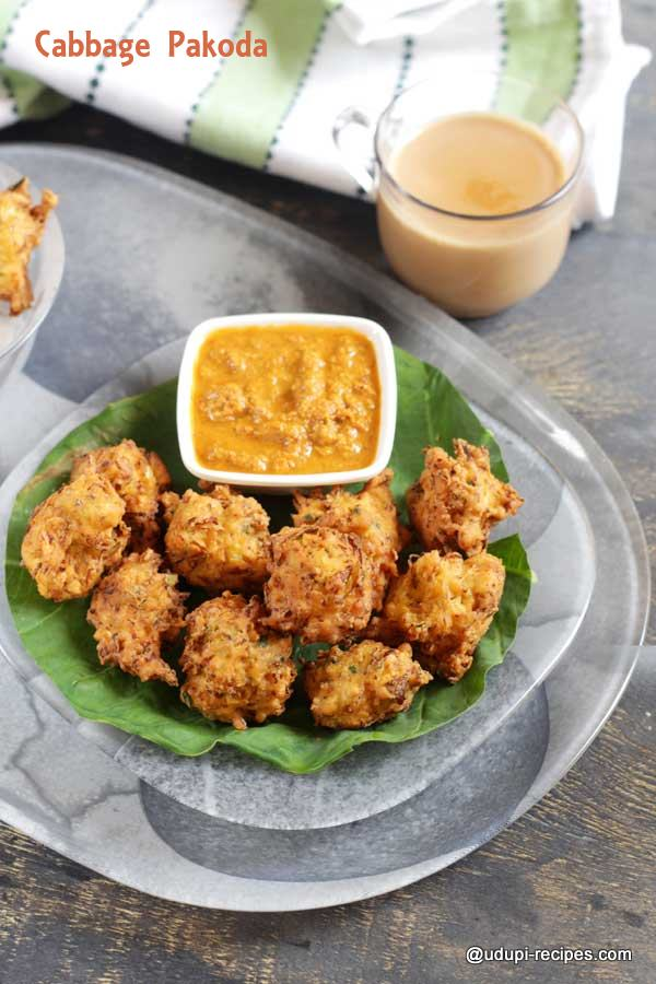 Cabbage Pakoda Cabbage Pakora Recipe Udupi Recipes