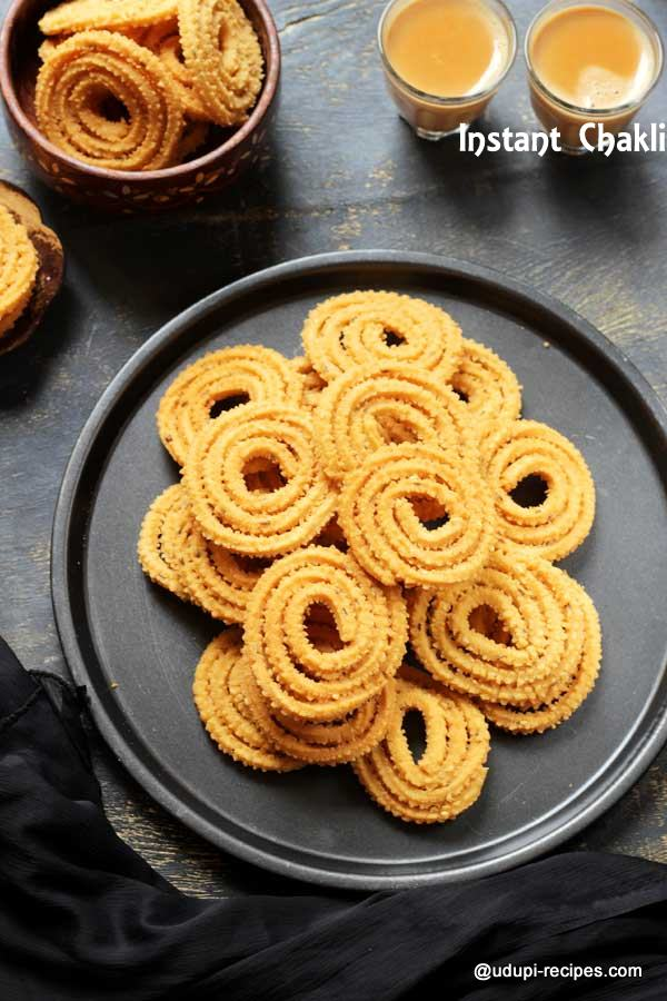 instant chakli delicious