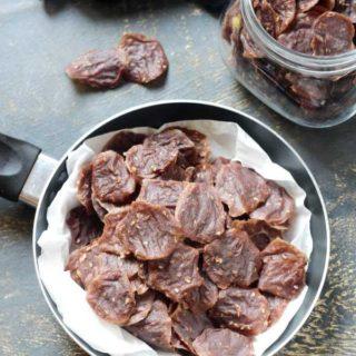 Finger Millet Fryums  | Ragi Sendige Recipe