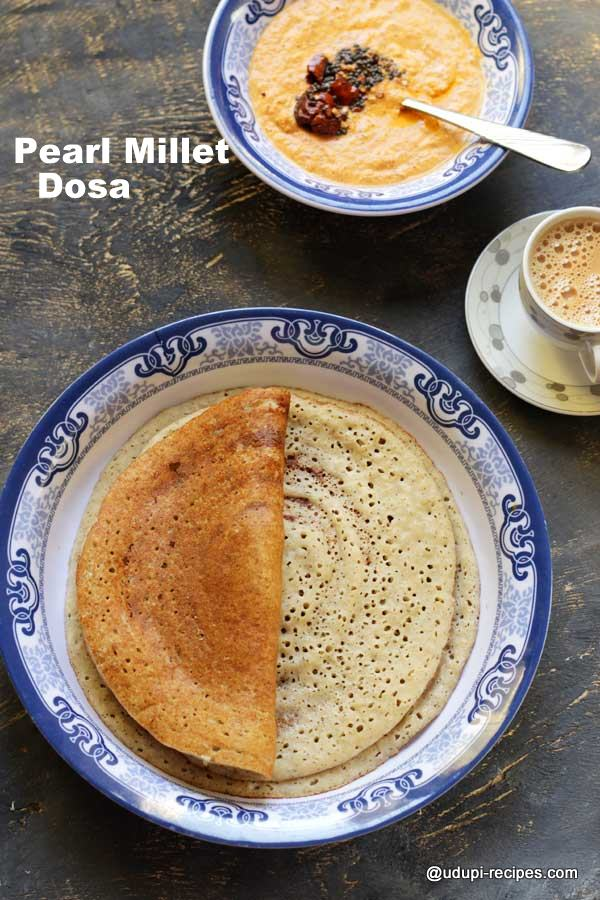 Pearl Millet Dosa | Healthy Breakfast