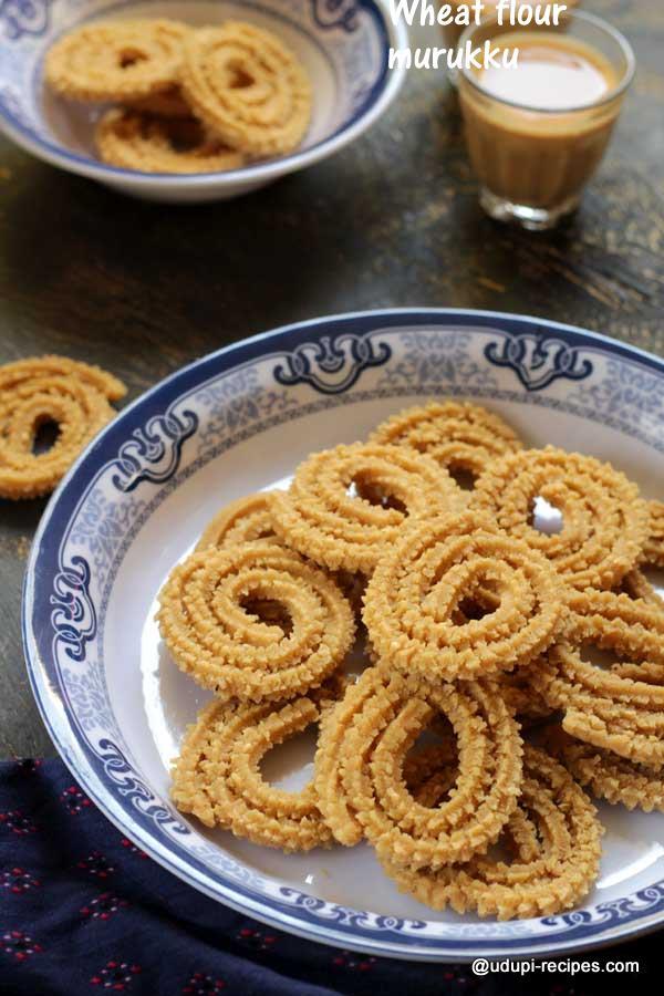 crispy wheat flour murukku