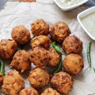 Onion Bonda Recipe | North Karnataka Special