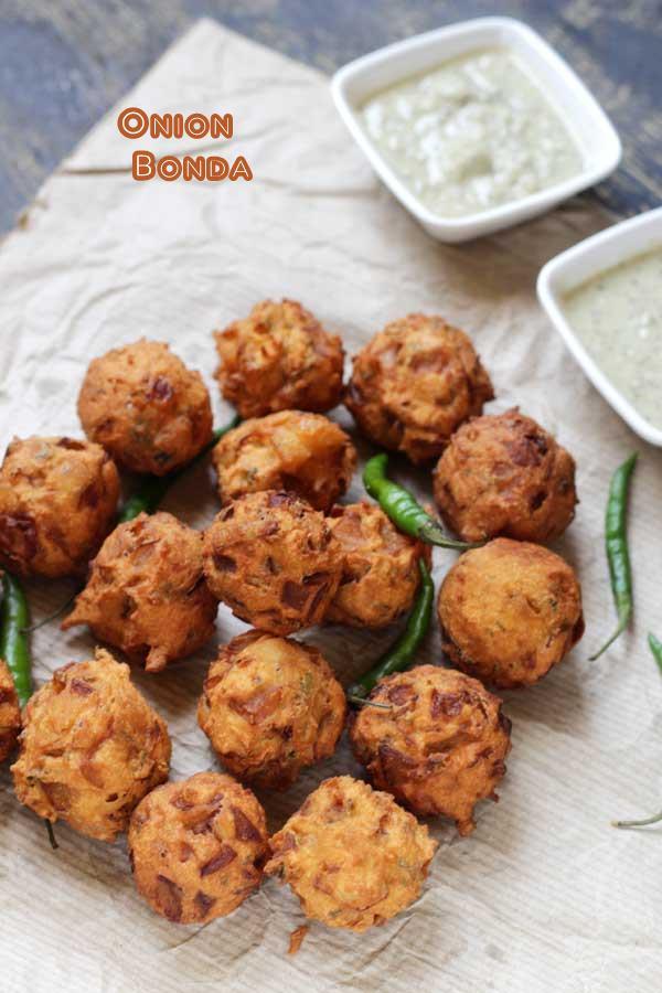 Onion Bonda Recipe | North Karnataka Special