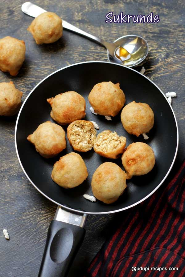Sukrunde Recipe | Puffed Paddy Sukrunde