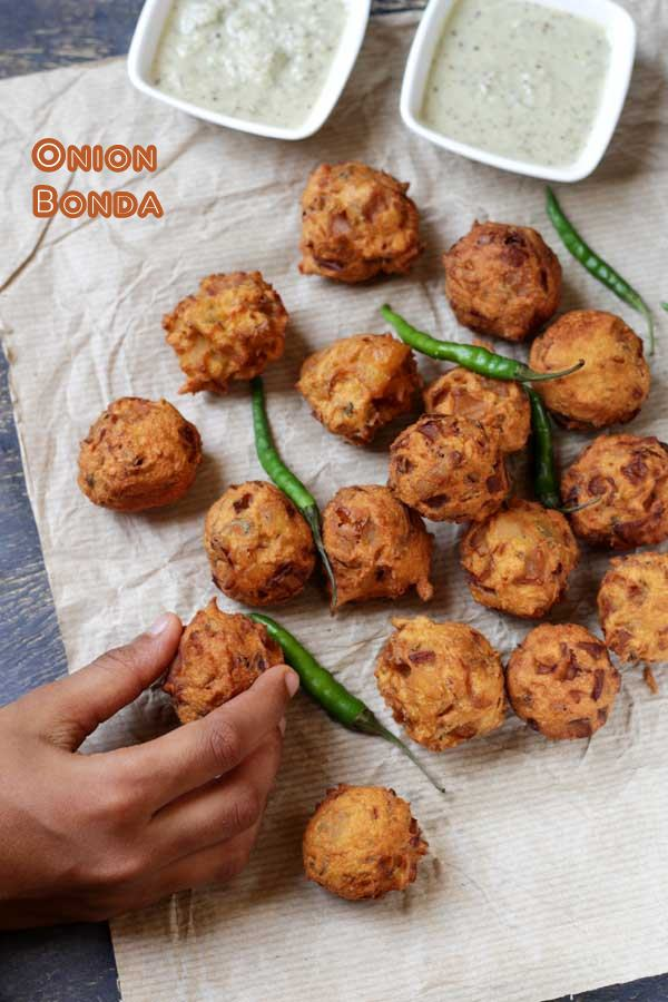 tasty onion bonda