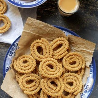 wheat flour murukku