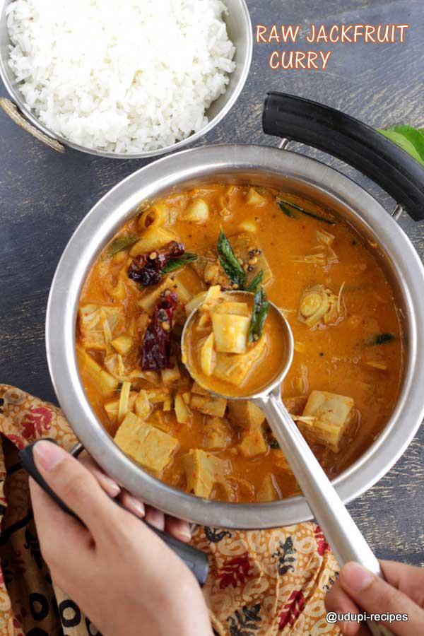 Raw Jackfruit curry authentic