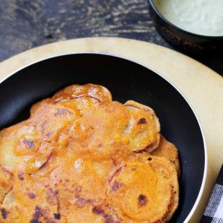Sweet potato dosa