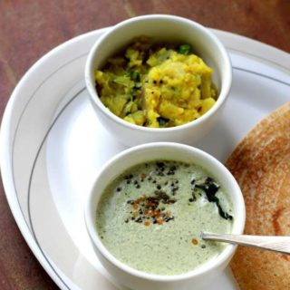 curry leaves peanut chutney easy