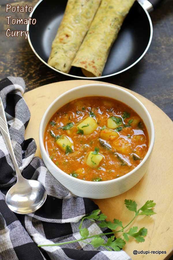 potato tomato curry